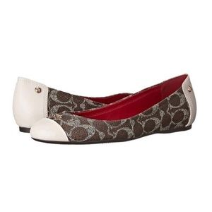 Coach Signature Chelsea Leather Flats